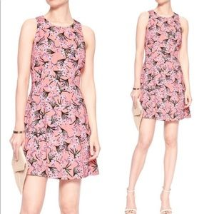 Banana Republic Floral Racerback Fit & Flare Dress